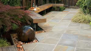 Landscaping And Patio Ideas Landscaping Ideas With Stone Sunset