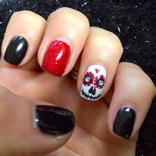 best 25 skull nail designs ideas on pinterest skull nails