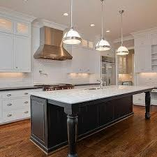 black distressed kitchen island kitchen island legs design ideas