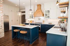 fixer blue kitchen cabinets this craftsman home was ready to crumble see what it looks