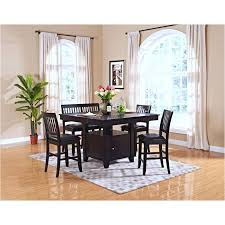 Counter Height Dining Room Table Sets by 45 102 10 New Classic Furniture Kaylee Counter Table Espresso