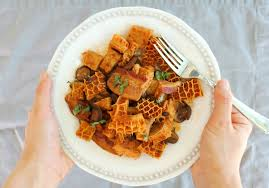 Bacon Main Dishes - tripe with bacon and mushrooms recipe us wellness meats