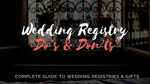 common wedding registries complete guide to wedding registries gifts