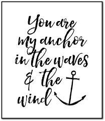 you are my anchor free printable