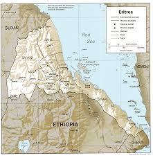 africa map eritrea studies center eritrea page