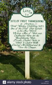 placard berkeley plantation virginia site of the 1st official