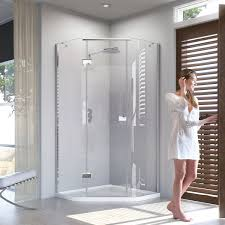 shower enclosures including walking showers quadrant enclosures what to consider when buying a new shower enclosure