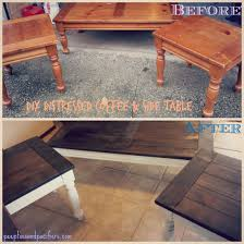 Refurbished End Tables by Diy Coffee Table U2026 Pinteres U2026