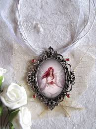 handmade angel necklace images Handmade fairy jewelry fairy pendants fairy art jpg