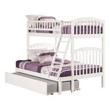 Solid Wood Bunk Beds With Trundle by Sale 972 30 Richland Twin Full Bunk Bed Urban Trundle