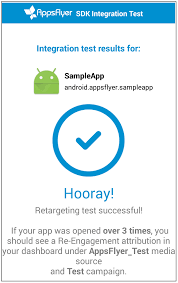 testing appsflyer u0027s android sdk integration and re targeting