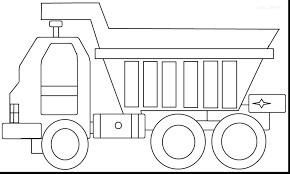 semi truck coloring pages free dump ford trucks monster pdf fire