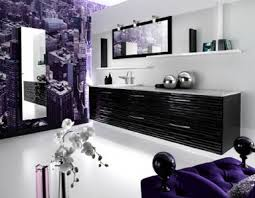 purple bathroom ideas the bathrooms in the purple color home interior design kitchen