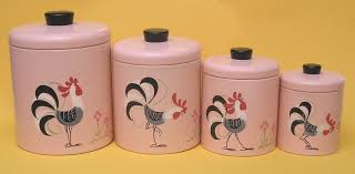 28 vintage kitchen canister floral kitchen canister set
