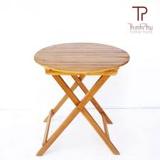 Outdoor Round Table Round Table 03 Thinh Phu Furniture