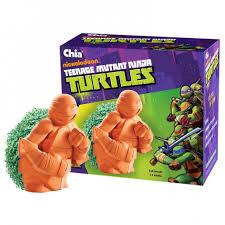 Turtle Planter Chia Pet Mutant Ninja Turtles Gift Unique Gifts Chia Pets