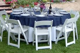 lifetime round tables for sale how to choose the right table linen size for your wedding or event