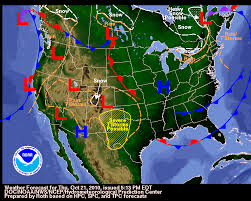 us weather map monday your hometown weather october 21 2010 another day