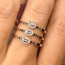 emerald diamonds rings images Equilibrium emerald cut diamond ring jennie kwon designs jpg