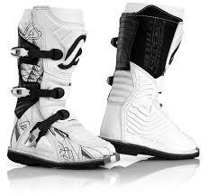cheap kids motocross boots acerbis shark junior motocross boots offroad white black acerbis