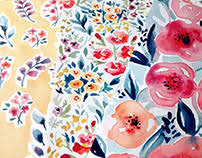 textile design projects on behance