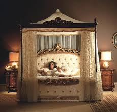 Vintage Canopy Bed Italian Furniture Imported Italian Furniture Antiques