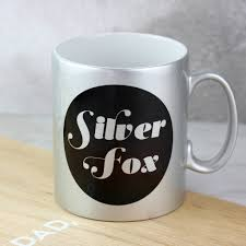 Fox Mug by Silver Fox Mug By So Close Notonthehighstreet Com