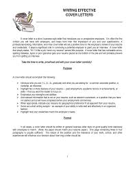 brilliant ideas of how to write a cover letter for
