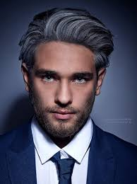 grey streaks in hair grey hair color for men fashionable gray hair color with black