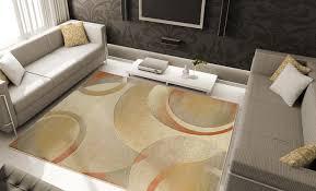 Home Dynamix Vinyl Floor Tiles by Home Dynamix Area Rugs Evolution Rug 5195 Cream Contemporary