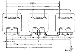 single phase transformers for three phase operation