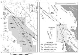 Map Of Death Valley Untitled Document