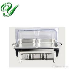 2018 stainless steel buffet heater chafing dish hotpot holder 9l