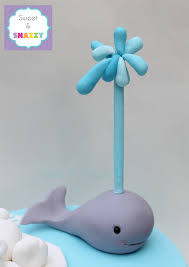 whale cake topper whale cake topper fondant whale by sweet snazzy https www