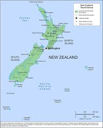 New Zealand On World Map by Smartraveller Gov Au New Zealand