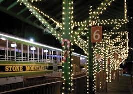 4 cool christmas train rides near atlanta