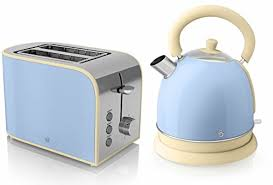Dualit Toaster And Kettle Set Swan Kitchen Appliance Copper Townhouse Set 1 7l Pyramid Kettle