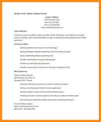 Software Engineer Fresher Resume Sample 10 Sample Resume For Fresher Software Engineer Azzurra Castle