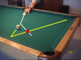 Types Of Pool Tables by Pool And Billiards Bank Shot Drill For Learning Cut Angle Effects