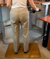 new standing desk anti fatigue mats from martinson nicholls reduce