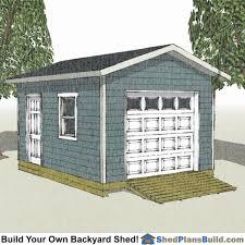 12x16 shed plans build a backyard shed