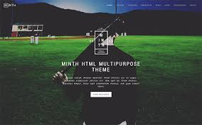 minth multipurpose html template bootstrap business