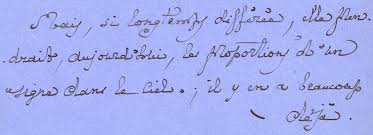 letter from marcel proust to robert de montesquiou july 1915