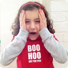boo hoo boo hoo for kids tshirt kaos anak