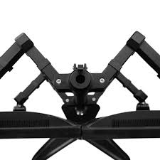 pricedepot fleximounts df1q quad arm free standing desk mount