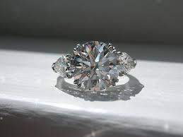 beveled engagement ring beveled engagement ring diamond three 5 ifec ci
