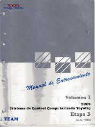 1 tccs sistema de control computarizado toyota
