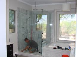 bathroom creates a dramatic and stunning focal point to any shower enclosures lowes home depot showers neo angle shower kit