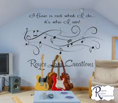 music is not what i do it u0027s who i am vinyl music wall decal