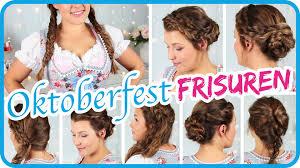 Frisuren Wiesn Anleitung by Frisuren Zum Dirndl Frisur Ideen 2017 Hairstyles Delusions Us
